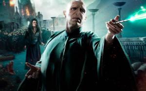 Voldemort Battle Wallpaper by HarryPotter645