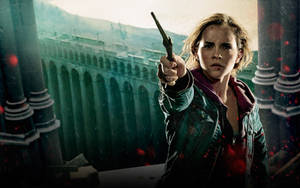 Hermione Action Official Wp by HarryPotter645