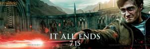 Harry Battle Banner by HarryPotter645