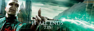 Voldemort Battle Banner by HarryPotter645