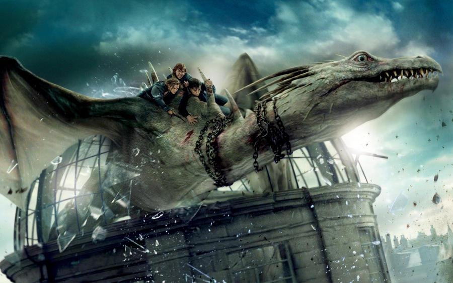 Harry Potter Gringotts Dragon