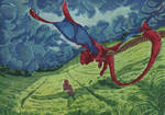 Mellow Meadow by Doragon-Ya