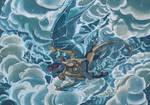 Thundering Through by Doragon-Ya