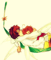 Fairy!Spamano: Siesta by edwardsuoh13