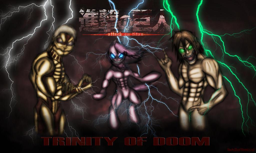Trinity of Doom  by sixpathsoffriendship