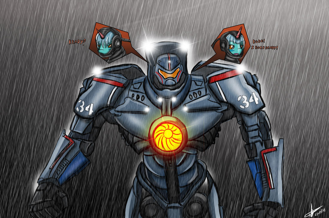 Gipsy Danger by sixpathsoffriendship