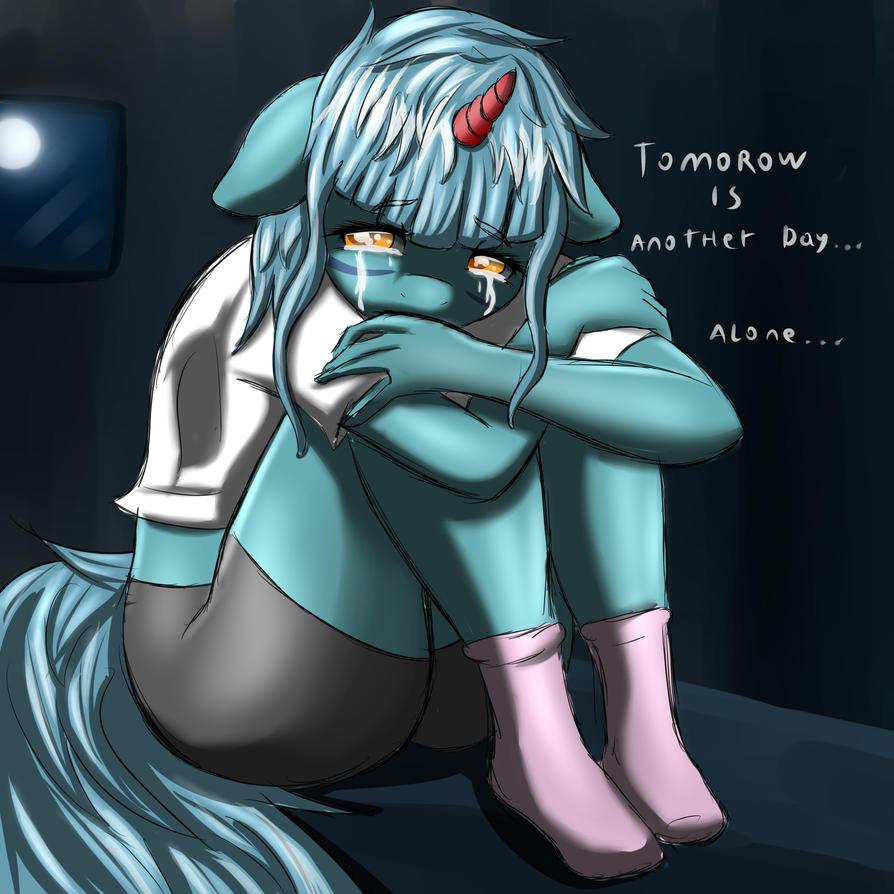 Alone by sixpathsoffriendship