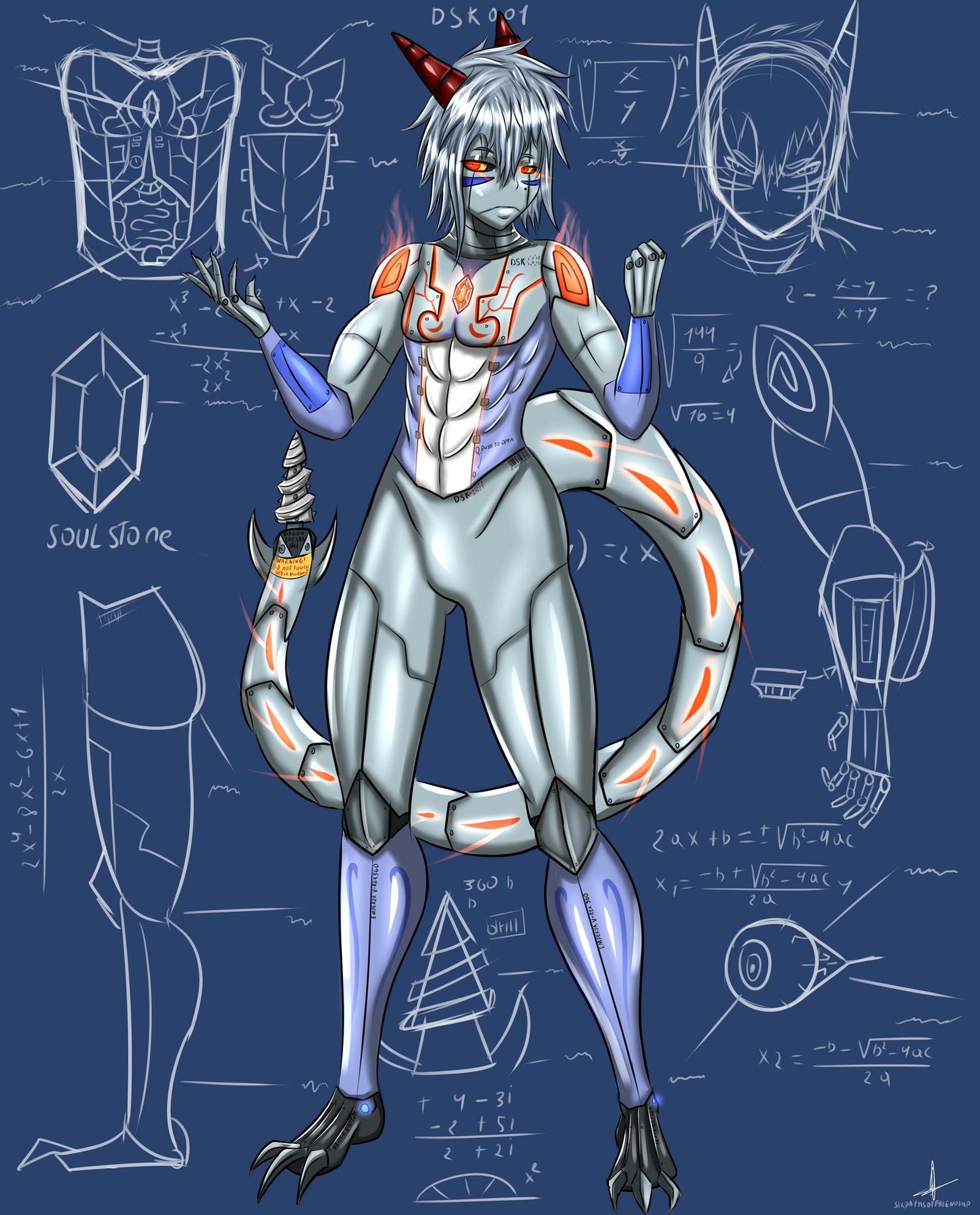 Cyborg Wake by sixpathsoffriendship