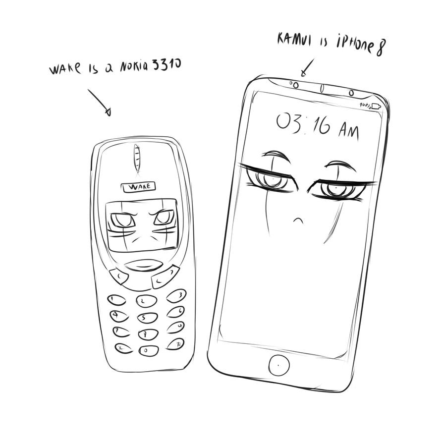 Phones by sixpathsoffriendship