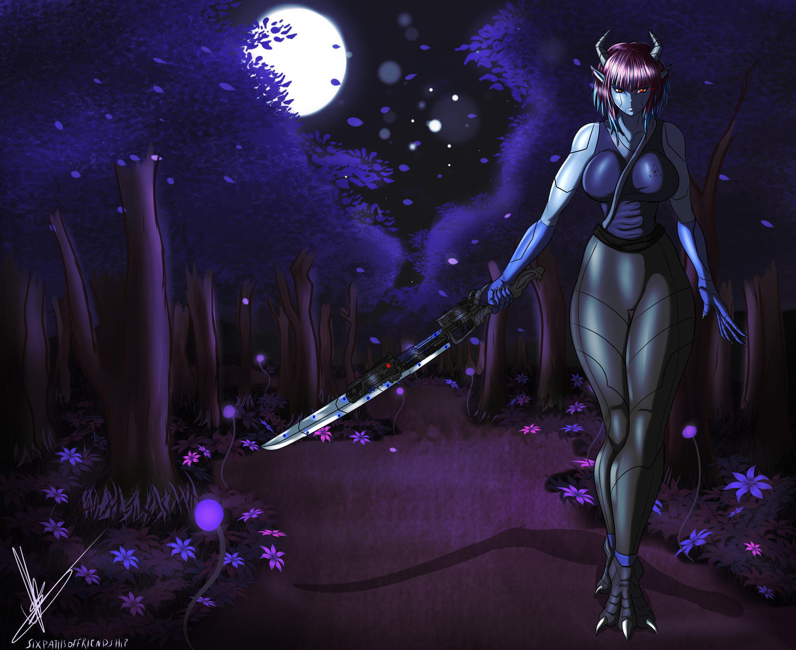 Midnight Guardian by sixpathsoffriendship