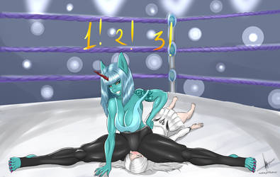 Wrestling! by sixpathsoffriendship