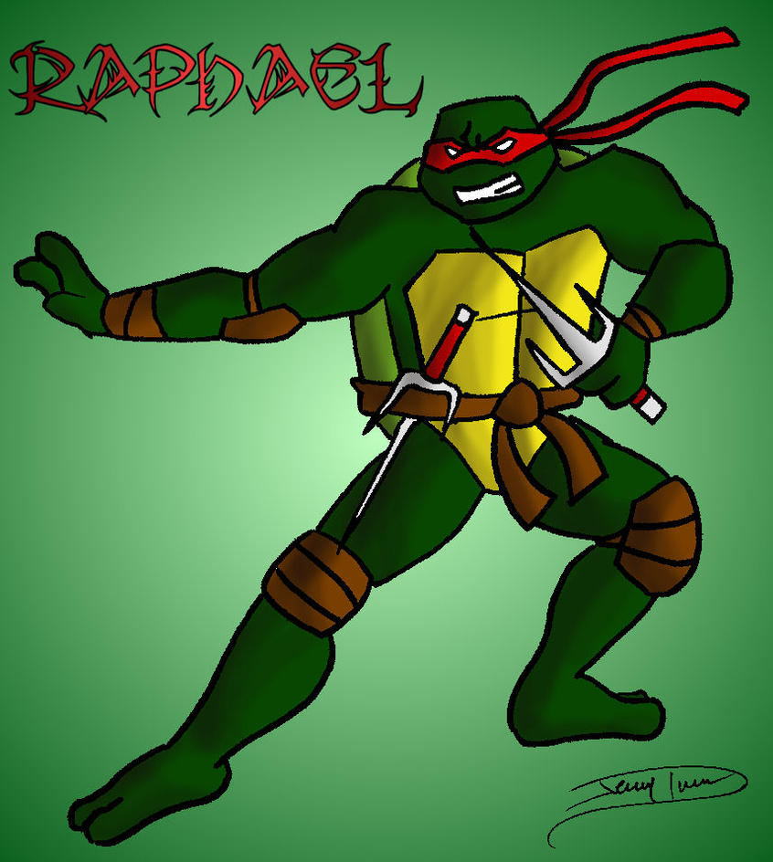 TMNT Raphael by Jaggid-Edge on DeviantArt