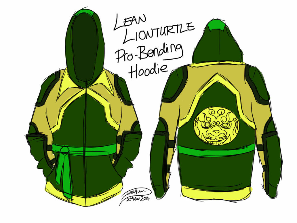 Lean Lionturtle Hoodie by Jagna-Q7