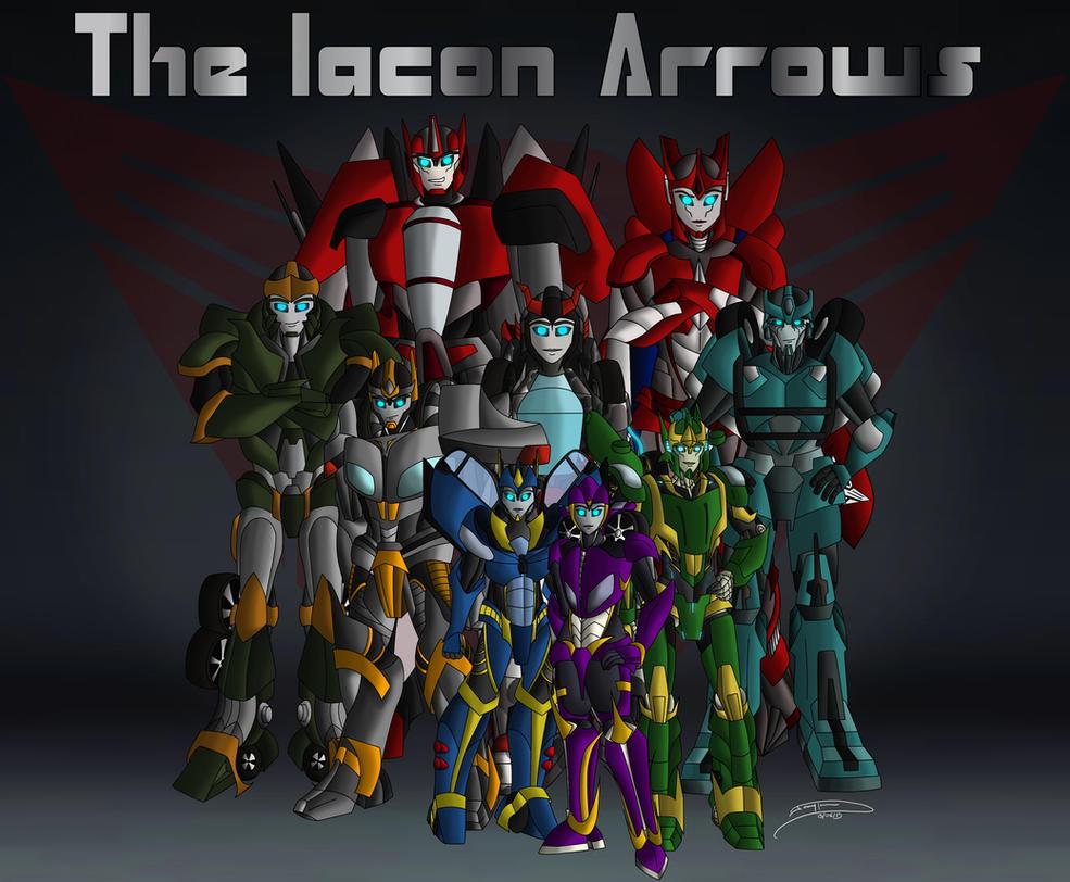 THE IACON ARROWS by Jaggid-Edge