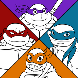 Tmnt Through The Years A by Jaggid-Edge