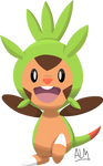 Chespin Pokemon 6th Gen