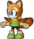 Marine the Raccoon - Sonic Runners Style by SuperAj3