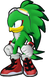 Jet the Hawk - Sonic Runners Style