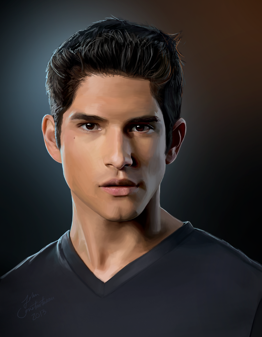 How To Draw Tyler Posey