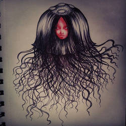 Jellyfish Monster by spiderlily-studio