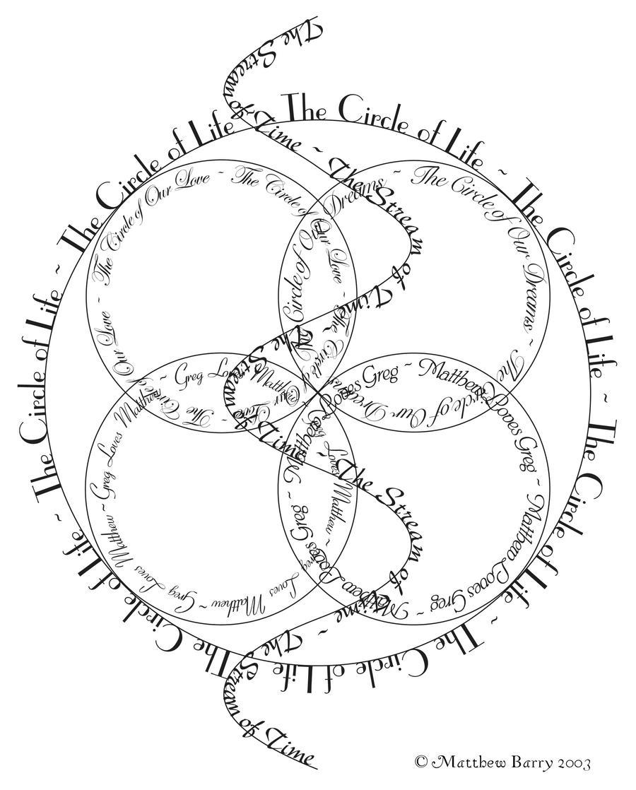 Circles Anniversary Card 1 by inspiredcreativity