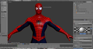 Spider-Man: Into The Spider-Verse Suit Model WIP