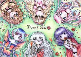 200+ Watchers - Thank you! by Sanarar71