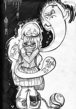 drawing of yersterday feelings