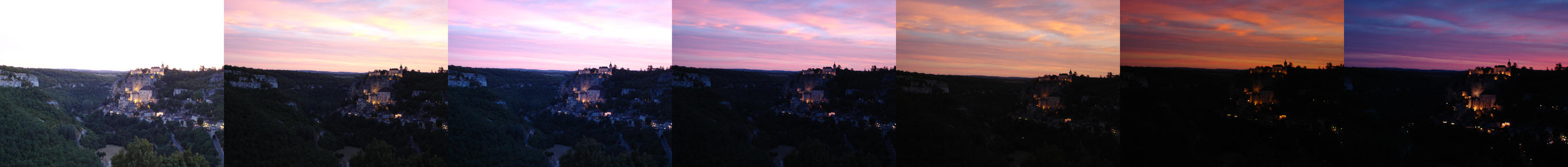 Rocamadour sunset by seretur1
