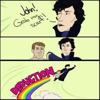 Sherlock GRAB MEME