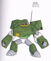 Mega Man Warriors #75: Commando Man by NinjaDude719
