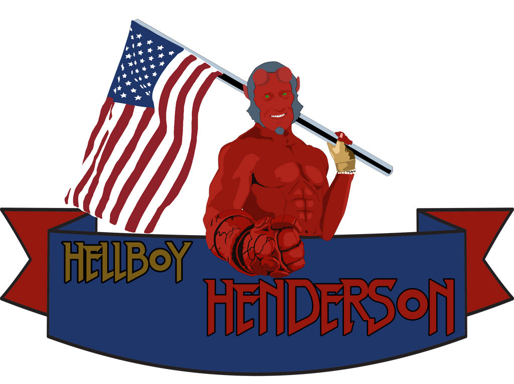 Hellboy Henderson by caseharts