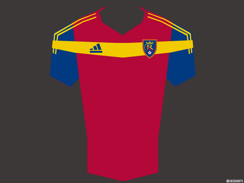 Real Salt Lake MLS Jersey by caseharts