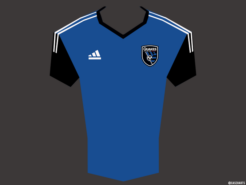 San Jose Earthquakes MLS Jersey by caseharts