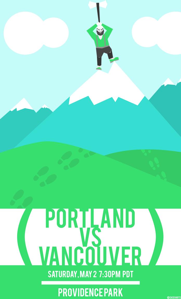 Portland Vs Vancouver by caseharts