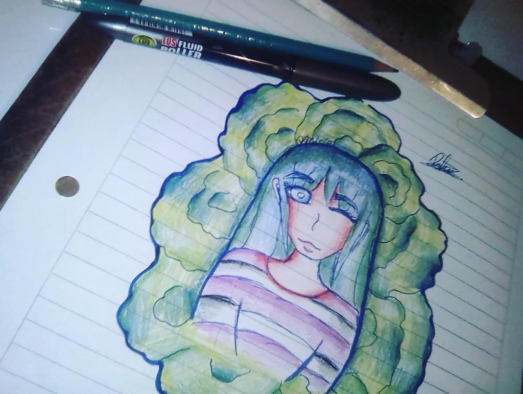New Drawing - Leila by Leilafandubs