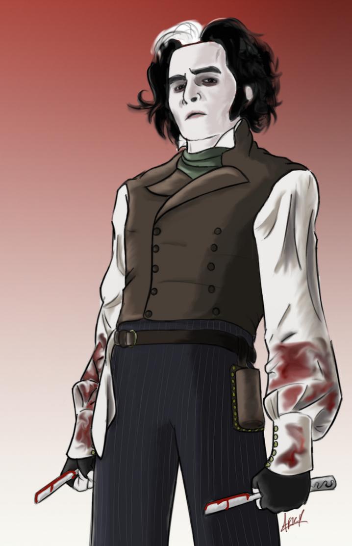 Sweeney todd character