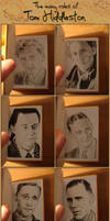 The many roles of Tom Hiddleston by Arkyz