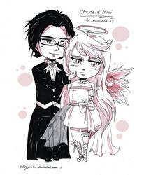CM Mimibox- Claude and Mimi by SkyGiratina00