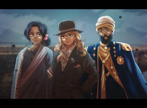[COMM] DeadlyViperQuill: Trio