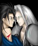 Sephiroth and Zack