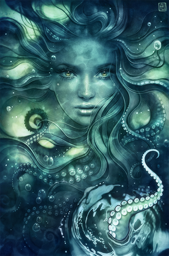 Sea Witch by escume