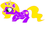 Filly Rapunzel pony