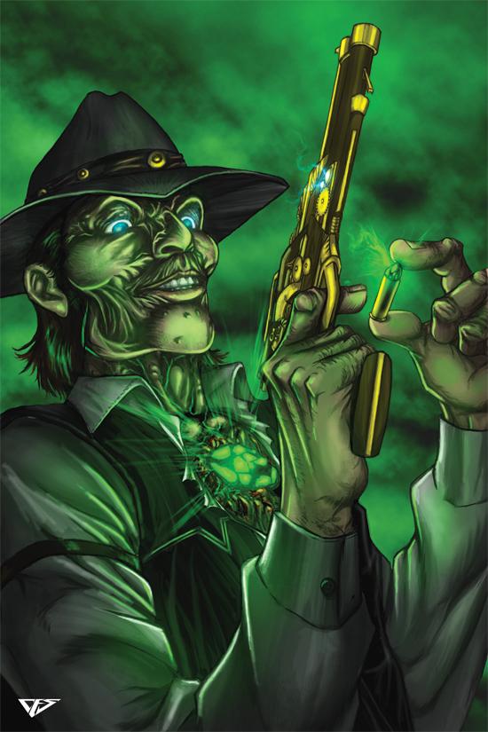 Deadlands Ghostwalkers by CEdwardSellner