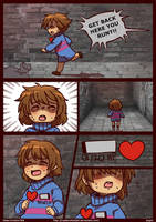 DETERMINATIONTALE COMIC - Page 1 by CreatorOfCastell