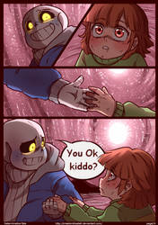 DETERMINATIONTALE COMIC Page 24 by CreatorOfCastell
