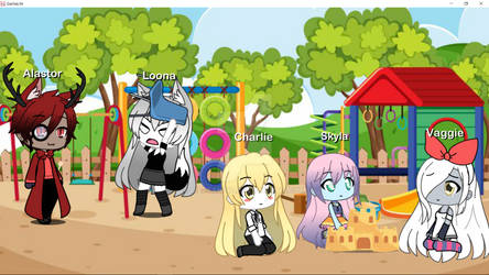 Randomness at the park by mlpfan212
