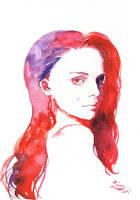 Portrait practice by ArielTW
