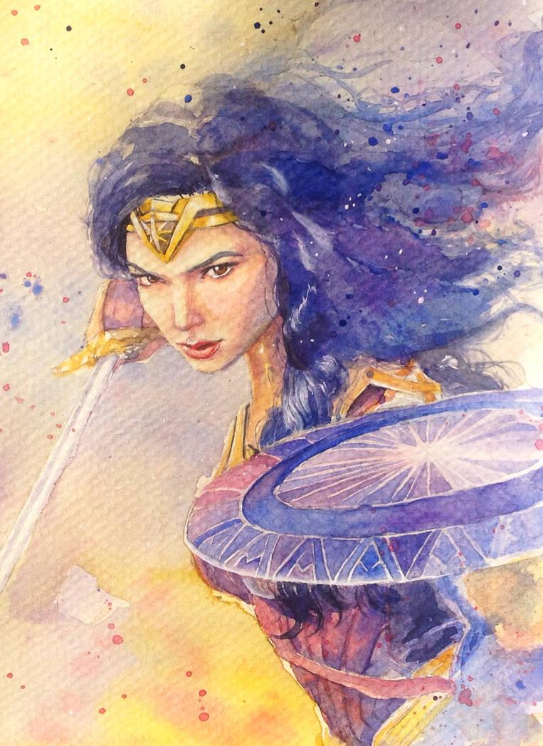 Wonderwoman by ArielTW
