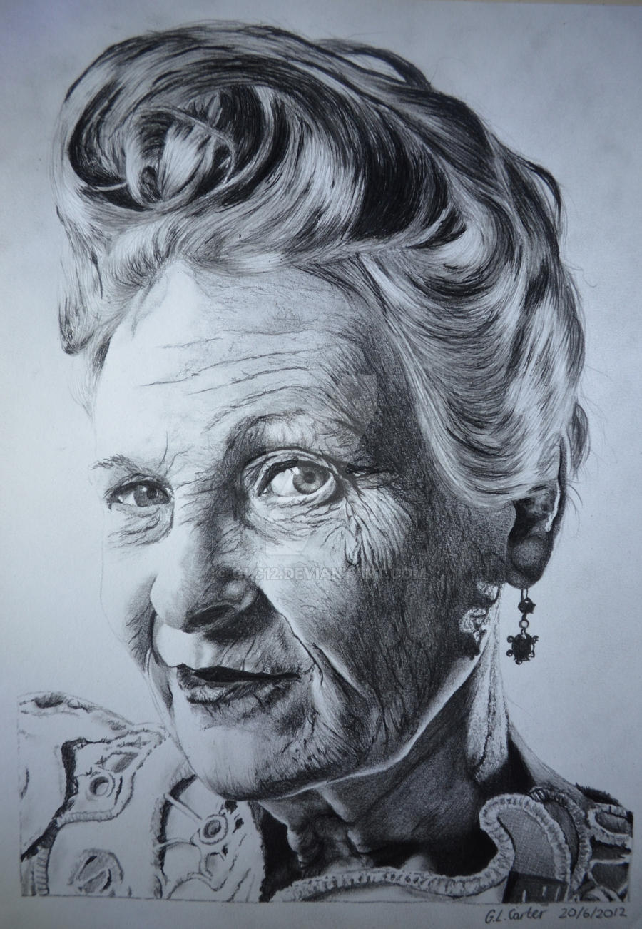 Vivienne westwood a4 tonal pencil drawing by glc12